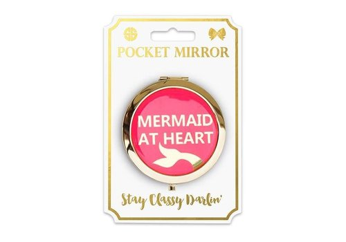 Simply Southern Simply Southern Phone Pocket Mirror Mermaid