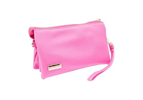 Simply Southern Simply Southern Clutch Hot Pink