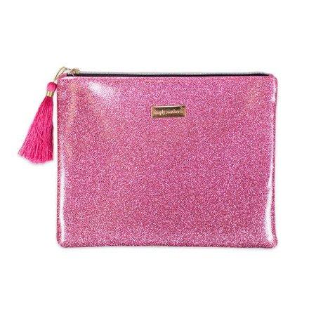 Glitter Pink Brush Bag