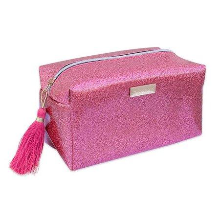 Glitter Pink Cosmetic Bag