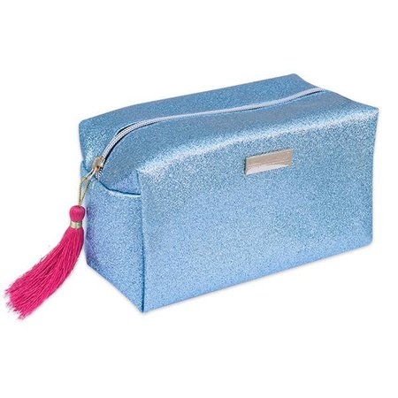 Glitter Tourquoise Cosmetic Bag