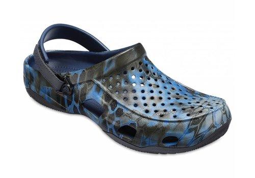 Men's Crocs Swiftwater Kryptek® Neptune Deck Clog