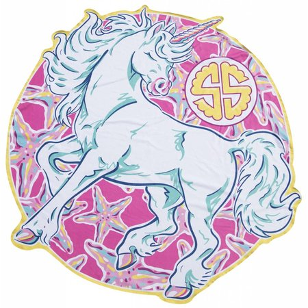 Simply Southern Beach Unicorn Towel