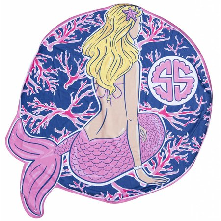 Simply Southern Beach Mermaid Towel