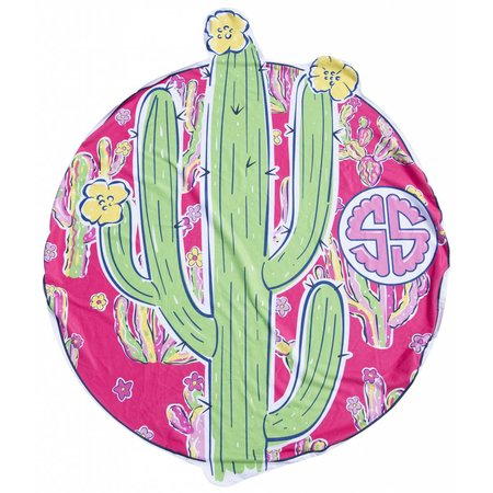 Simply Southern Beach Cactus Towel