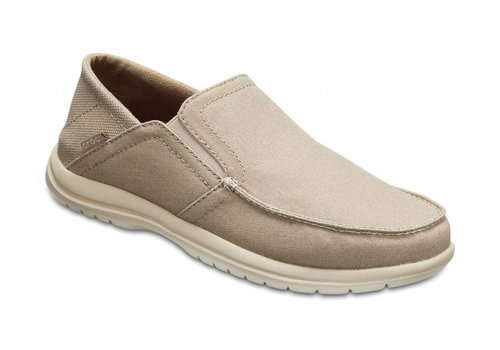 Men's Crocs Santa Cruz Convertible Slip-On Khaki
