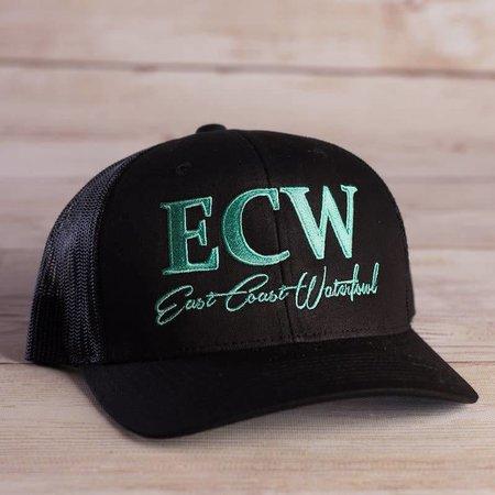 ECW Black with Seafoam Green