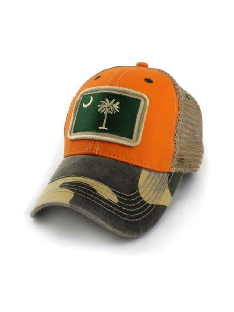 6c0d0698 SC Flag Patch Outdoorsmen Hat - Papa's General Store
