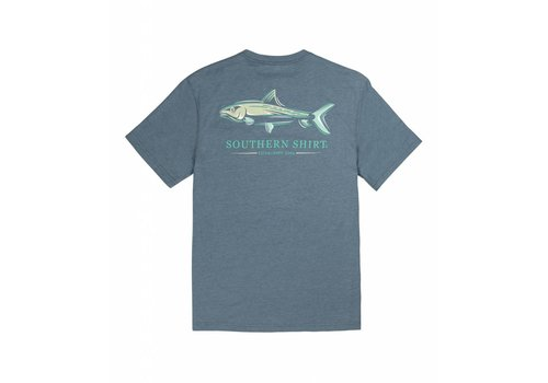 Southern Shirt Bonehead Tee SS Captain Blue 385