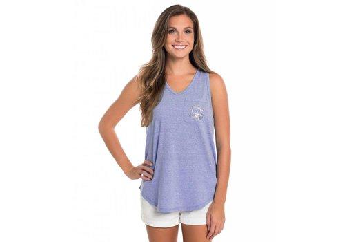 Southern Shirt V-Nack Katy Tank Vista Blue 516
