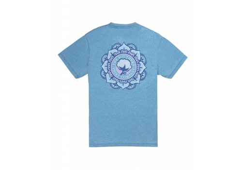 Southern Shirt Vintage Burnout Tee SS Azure Blue 180