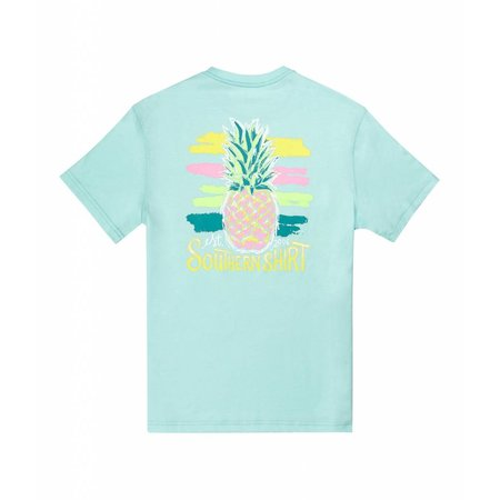 Poppy Pineapple Tee SS Aqua Splash 518