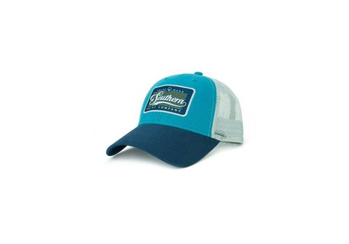 Southern Shirt Patch Trucker Hat Tidal Teal 179