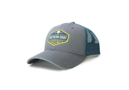 Southern Shirt Trademark Badge Mesh Hat Metal/ Slate 440