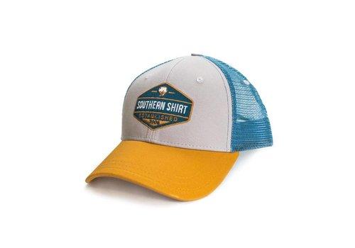 Southern Shirt Trademark Badge Mesh Hat Steel/ Slate 512