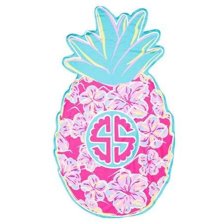 Beach Pineapple Towel