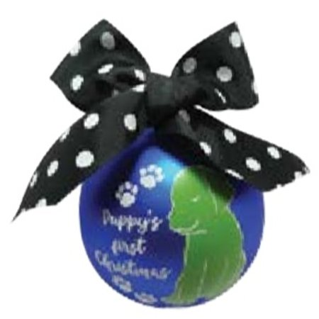 Simply Southern Puppys Ornament