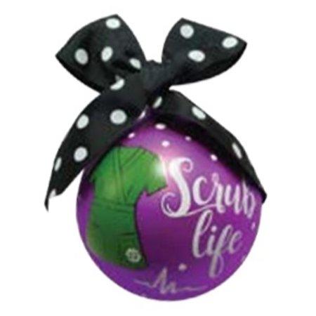 Scrub Ornament