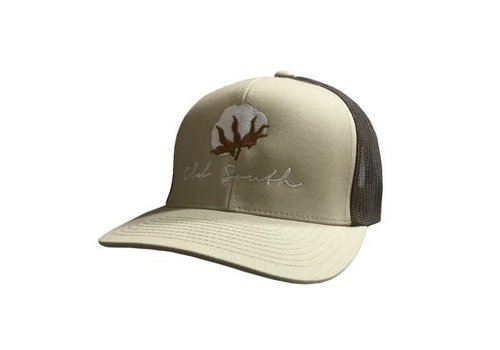 Old South Old South Cotton Khaki Trucker Hat