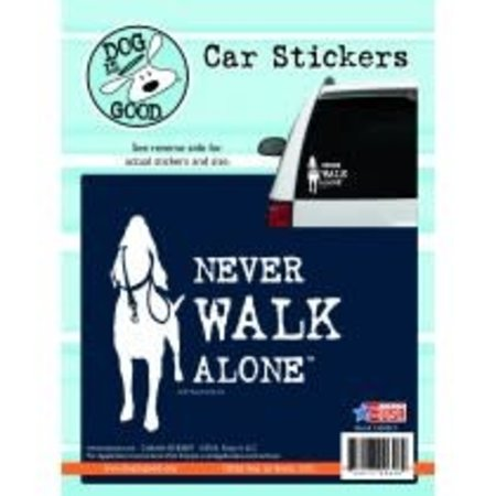 Never Walk Alone Sticker