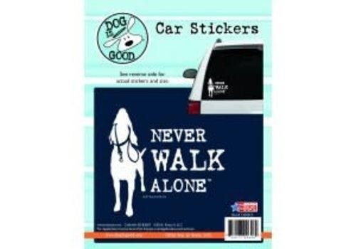 Enjoy It Never Walk Alone Sticker