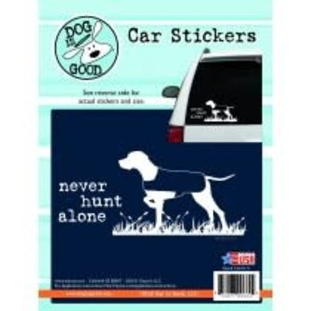 Never Hunt Alone Sticker
