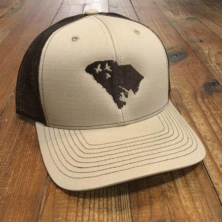 Duck Hunt SC Hat Tan Coffee