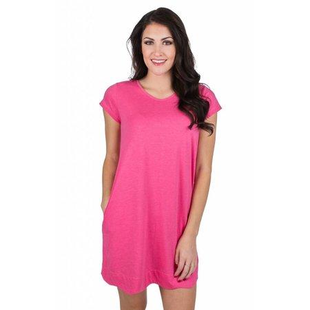 Hailey Dress Raspberry