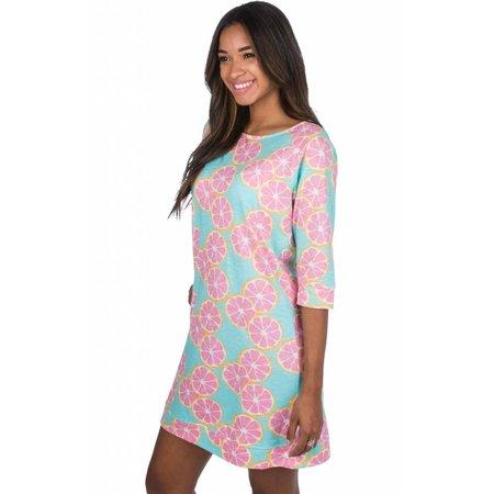 3/4 Length Slub Dress Main Squeeze