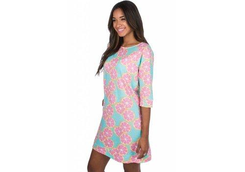 Lauren James 3/4 Length Slub Dress Main Squeeze