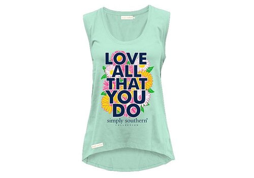 Simply Southern Simply Southern Love All You Do Tank
