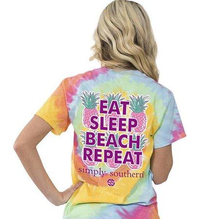 Copy of  Simply Southern Preppy Logo Dye Youth T-shirt
