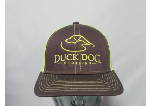 Duck Dog Duck Dog Logo Hat Charcoal Neon