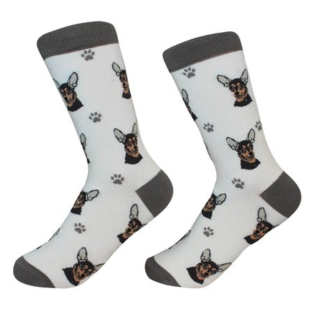 Chihuahua Black Socks