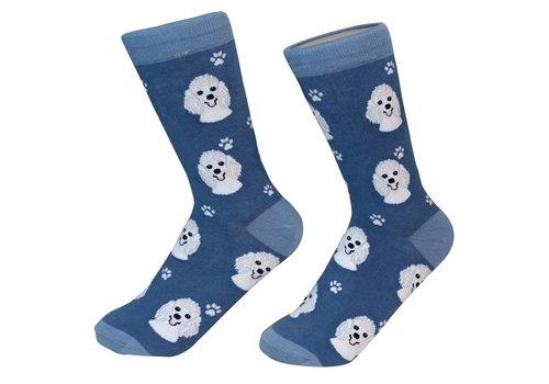 ES Pets Poodle White Socks
