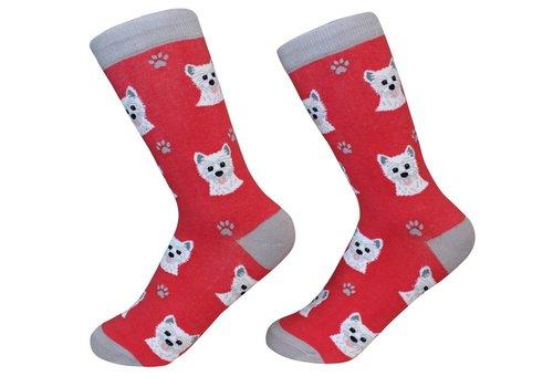ES Pets Westie Socks