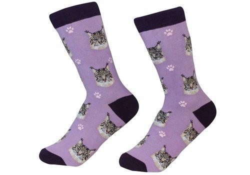 ES Pets Maine Coon Cat Socks