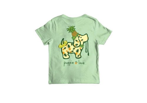 Puppie Love Puppie Love Pineapple Pup Mint YOUTH