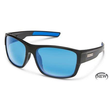 Range Sunglass - Black/Polarized Polycarbonate Blue Mirror