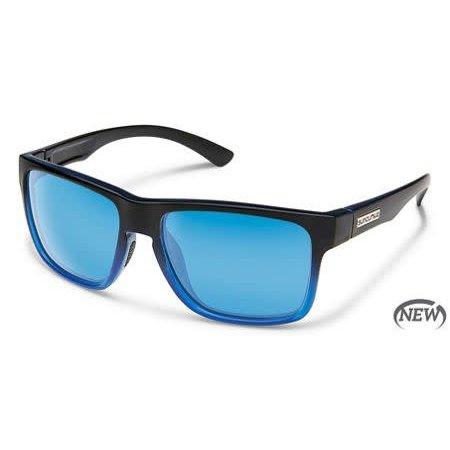 Rambler - Black Blue/Polarized Polycarbonate Blue Mirror