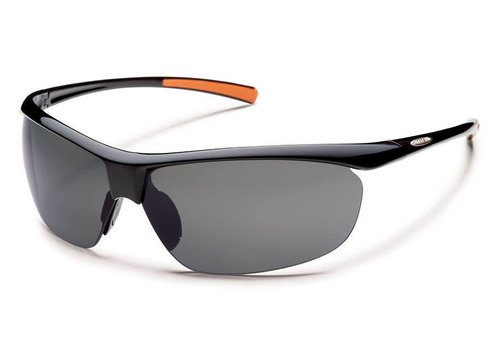 Suncloud Optics Suncloud Zephyr - Black/Gray Polarized Polycarbonate