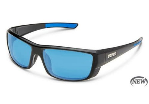 Suncloud Optics Suncloud Lock - Black/Polarized Polycarbonate Blue Mirror