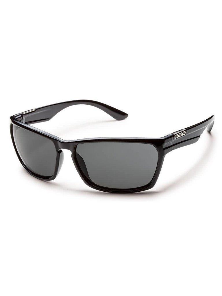 92a2d95f31 Suncloud Optics Cutout - Black Gray Polarized Polycarbonate - Papa s ...