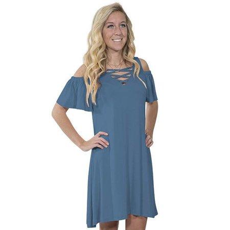 Simply Southern Moonrise Blue Dress