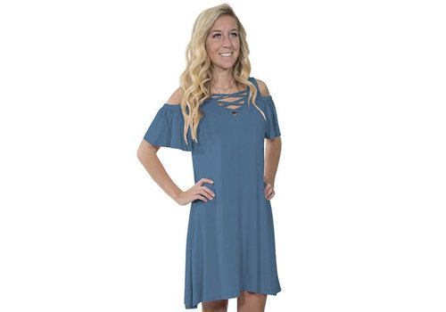 Simply Southern Simply Southern Moonrise Blue Dress