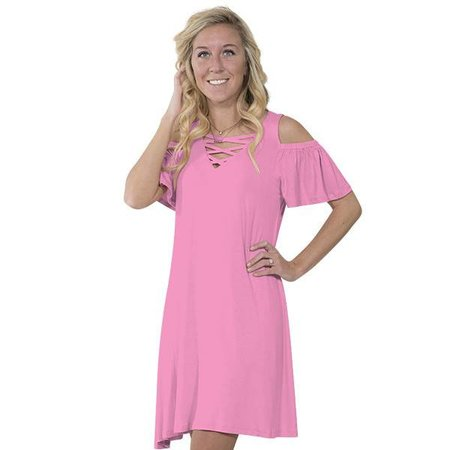 Simply Southern Pink Dress
