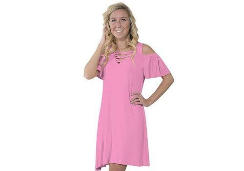 Simply Southern Simply Southern Pink Dress