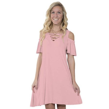 Simply Southern Coral Dress