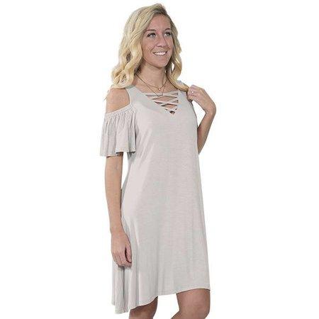 Simply Southern Sand Dress
