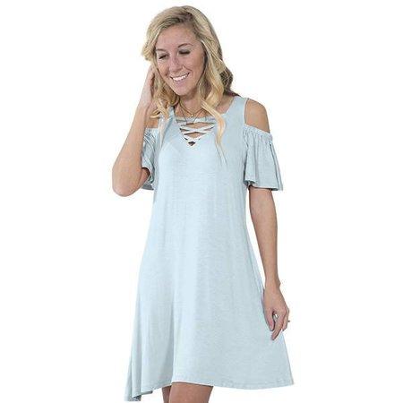 Simply Southern Sky Blue Dress